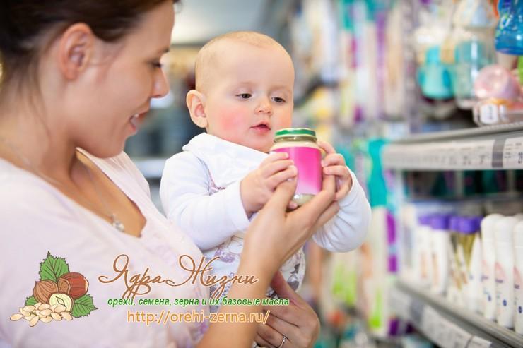 Пальмовое масло в детских смесях: список производителей