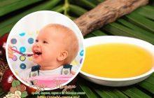 Пальмовое масло в детском питании
