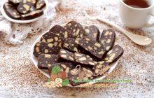 шоколадная колбаса из печенья и какао рецепт в домашних условиях
