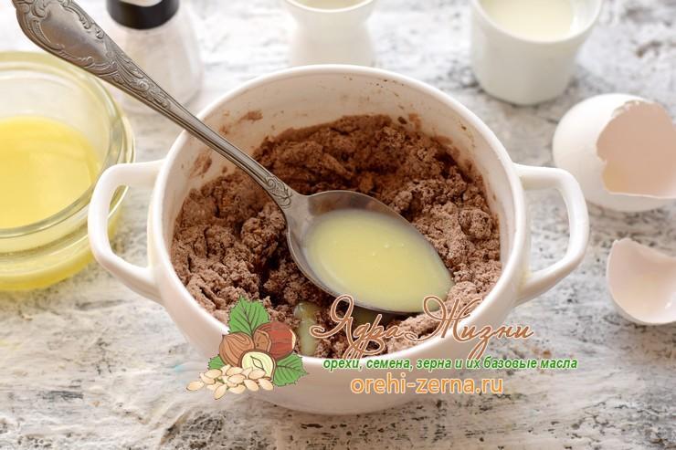 шоколадный кекс с какао в микроволновке рецепт в домашних условиях
