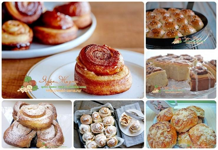 Рецепты булочек в домашних условиях