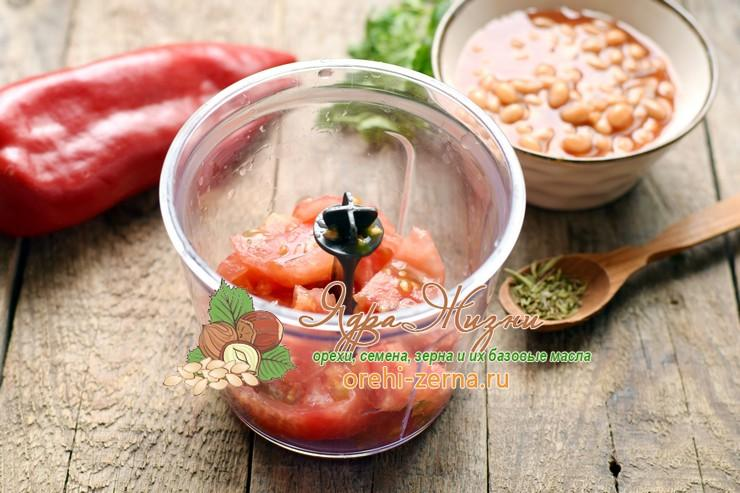 кальмары с фасолью рецепт