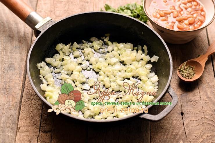 кальмары с фасолью пошаговый рецепт