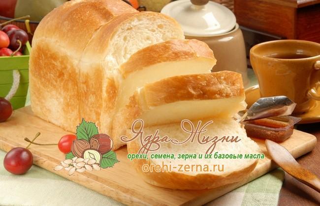 Американский белый хлеб из пшеничной муки