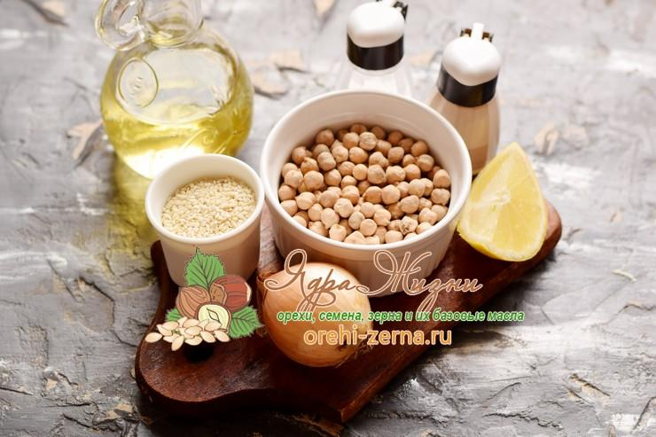 Хумус из нута: фото рецепт в домашних условиях