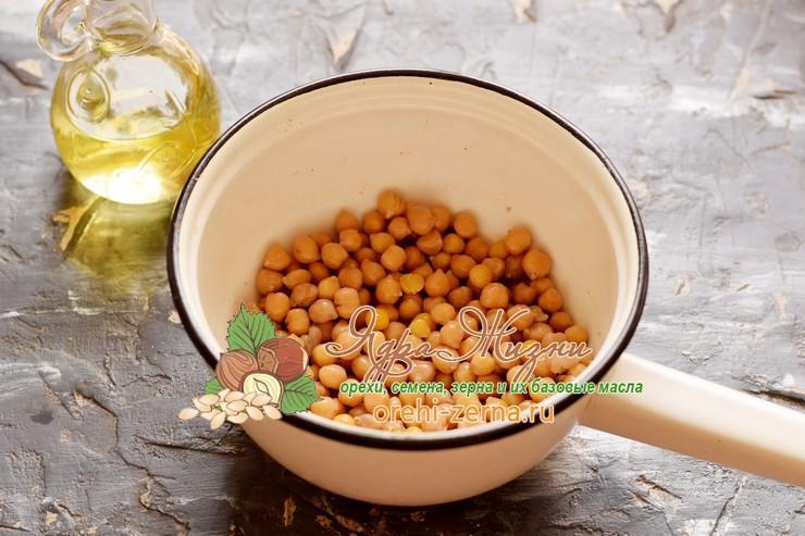 хумус из нута рецепт с фото