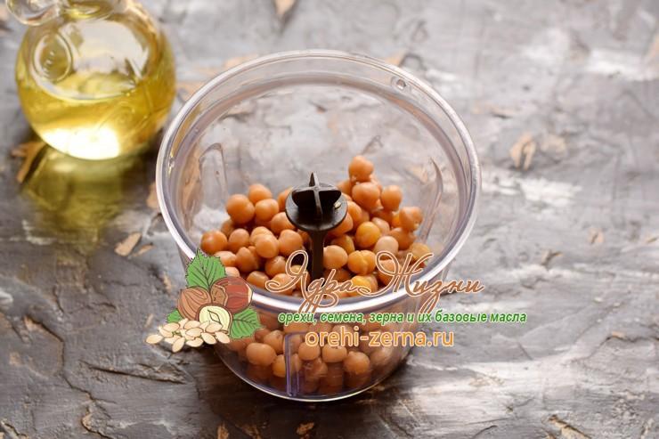 хумус из нута пошаговый рецепт