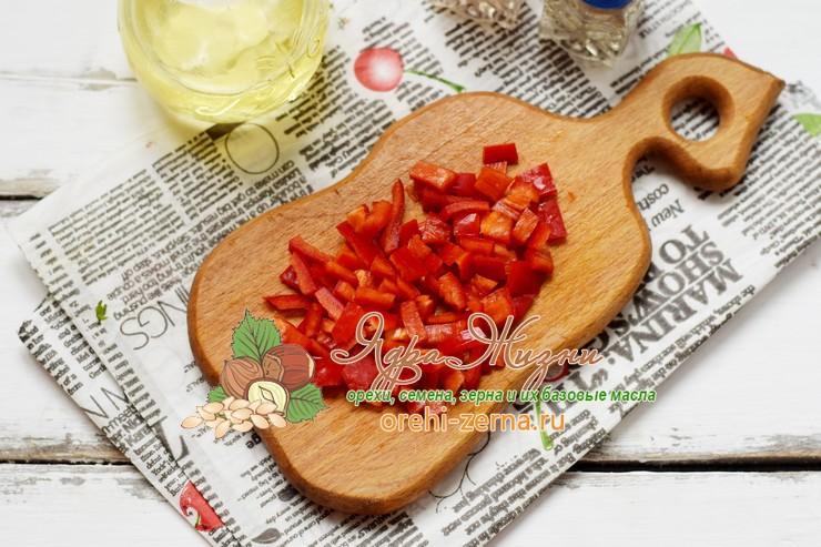 овощное рагу с красным рисом рецепт с фото