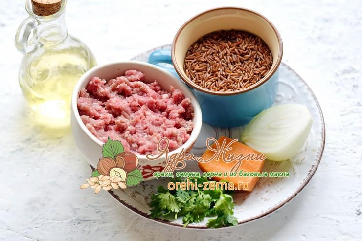 Красный рис по-флотски: фото рецепт в домашних условиях