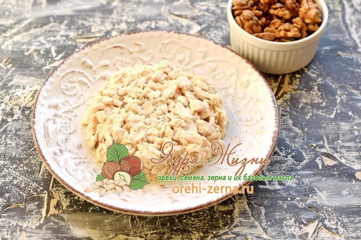 салат Свинка с орехами рецепт с фото
