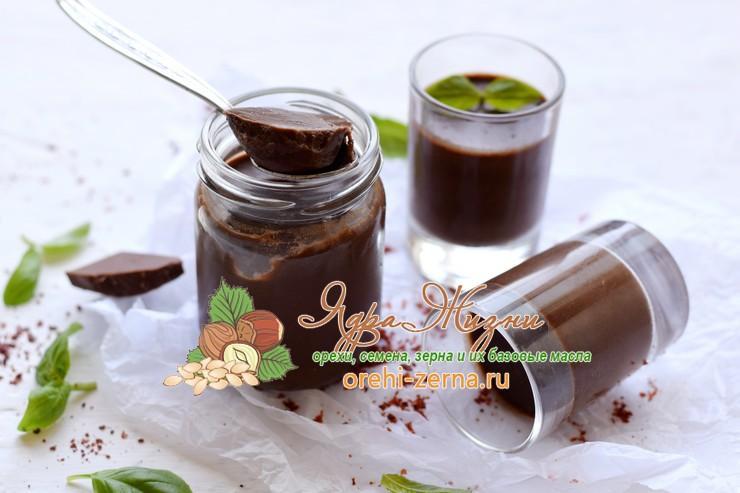 шоколадная панакота пошаговый рецепт