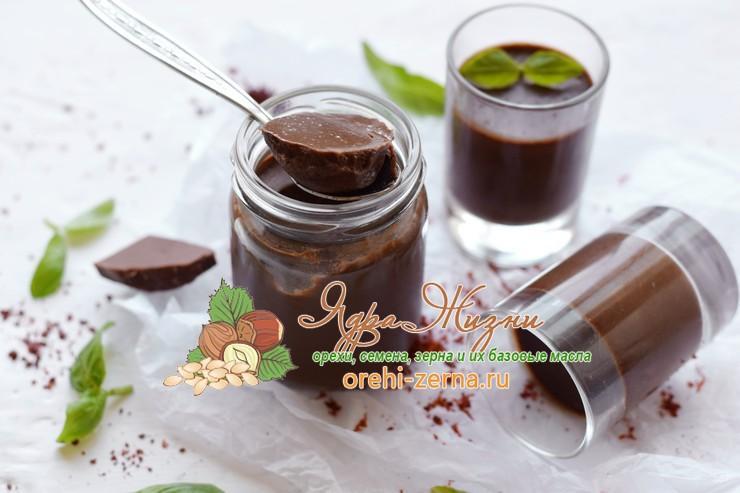 Шоколадная панакота: фото рецепт в домашних условиях