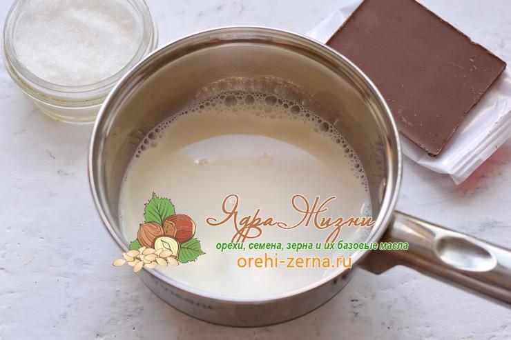 шоколадная панакота рецепт