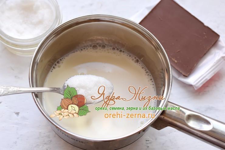шоколадная панакота рецепт с фото