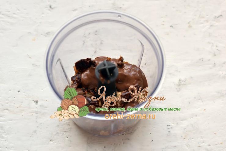 шоколадные конфеты с финиками и кокосовой стружкой пошаговый рецепт
