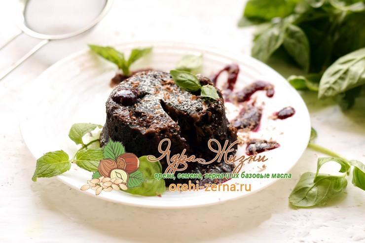 шоколадный фондан рецепт в домашних условиях