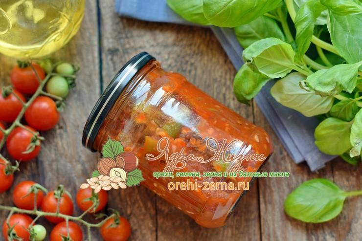 спаржевая фасоль в томатном соусе на зиму рецепт в домашних условиях