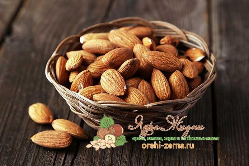 Как выбрать орехи миндаль при покупке