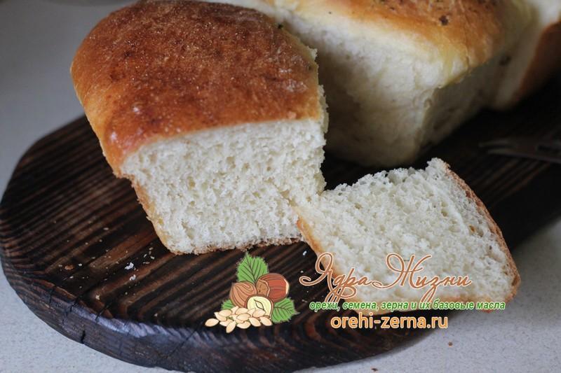 Молочный хлеб без замеса рецепт в домашних условиях