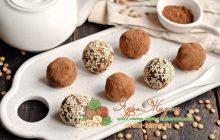 Полезные конфеты из чечевицы, фиников и орехов: рецепт приготовления с фото