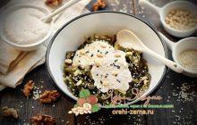 Морская капуста в ореховом соусе рецепт