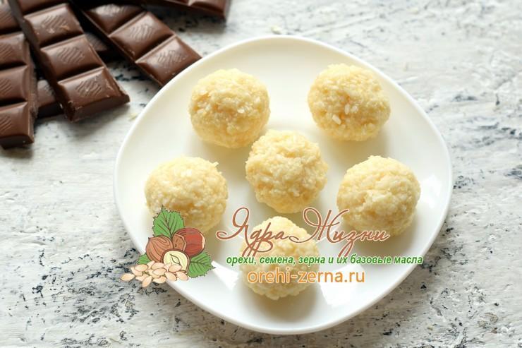 Кокосовые конфеты в шоколаде рецепт в домашних условиях