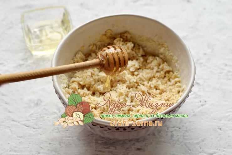 Овсяное печенье на кефире с кокосовой стружкой рецепт в домашних условиях