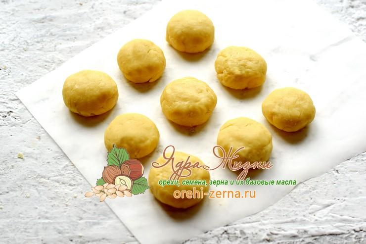 песочное печенье с кокосовой стружкой рецепт в домашних условиях