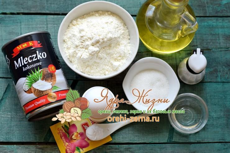 блины на кокосовом молоке пошаговый рецепт
