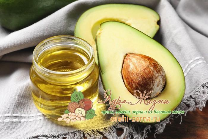 Масло авокадо: состав и свойства