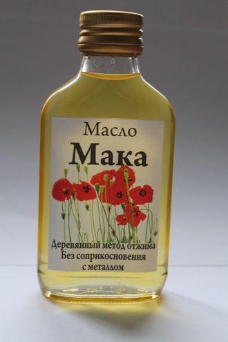 маковое масло применение