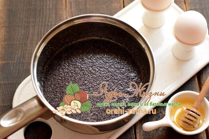 Маковая начинка для выпечки рецепт