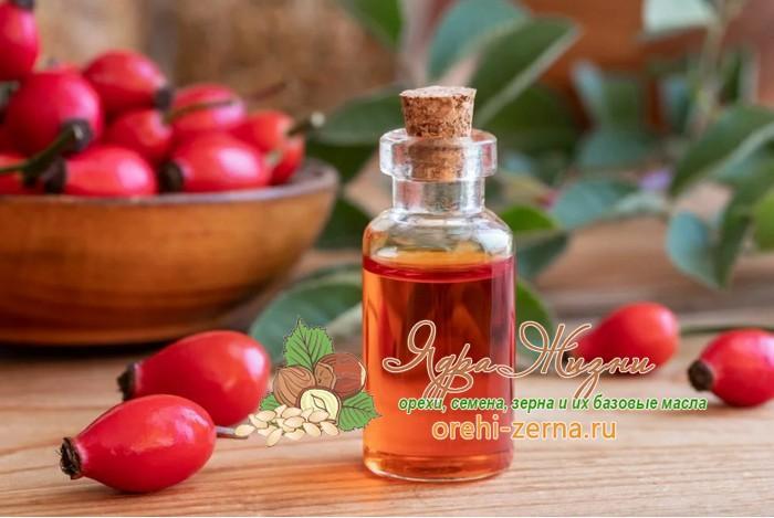Полезные свойства шиповникового масла