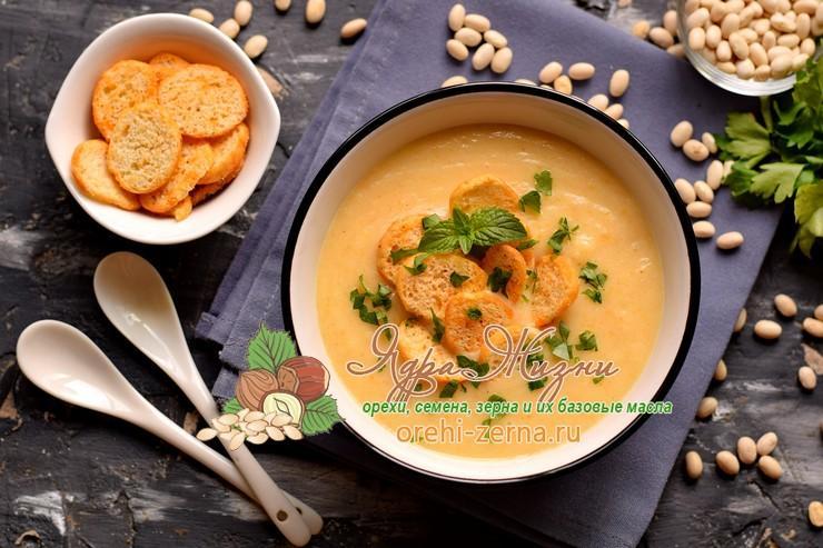 фасолевый суп-пюре рецепт в домашних условиях