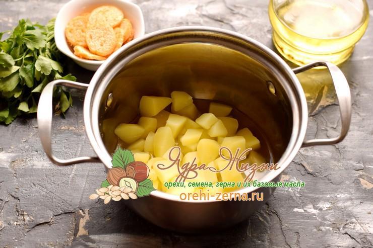 фасолевый суп-пюре рецепт приготовления