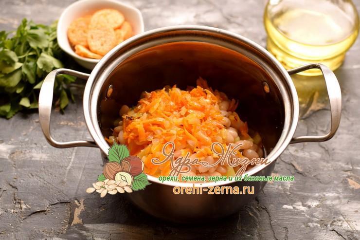 фасолевый суп-пюре рецепт