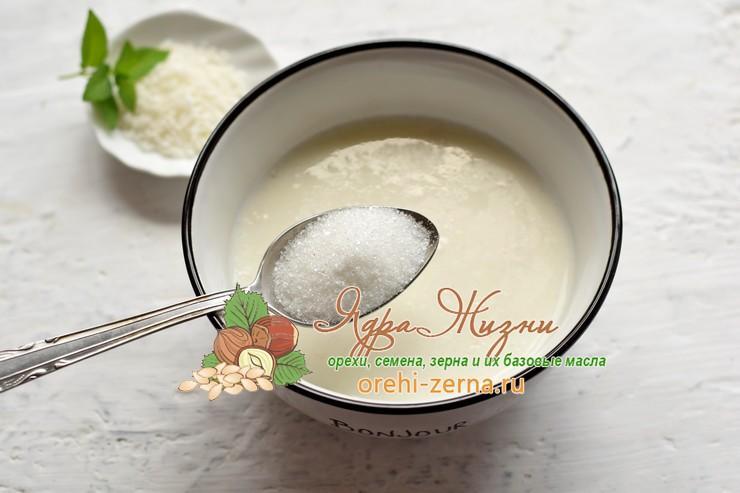 кокосовая панакота рецепт