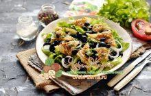 Салат с фасолью и сыром сулугуни на праздничный стол: рецепт в домашних условиях