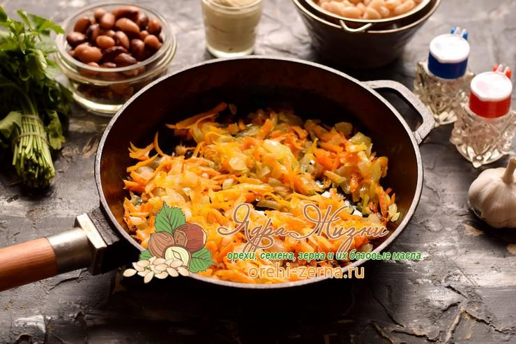 салат с фасолью и овощами рецепт с фото