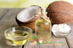 Миниатюра к статье Как использовать кокосовое масло для кожи лица, шеи и зоны декольте от морщин