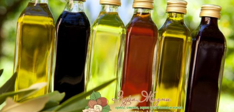 Миниатюра к статье Базовые растительные масла: обзор и таблица всех свойств и их применение