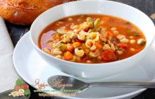 Миниатюра к статье Вкусный Минестроне по классическому рецепту в мультиварке — шикарный суп итальянской кухни!